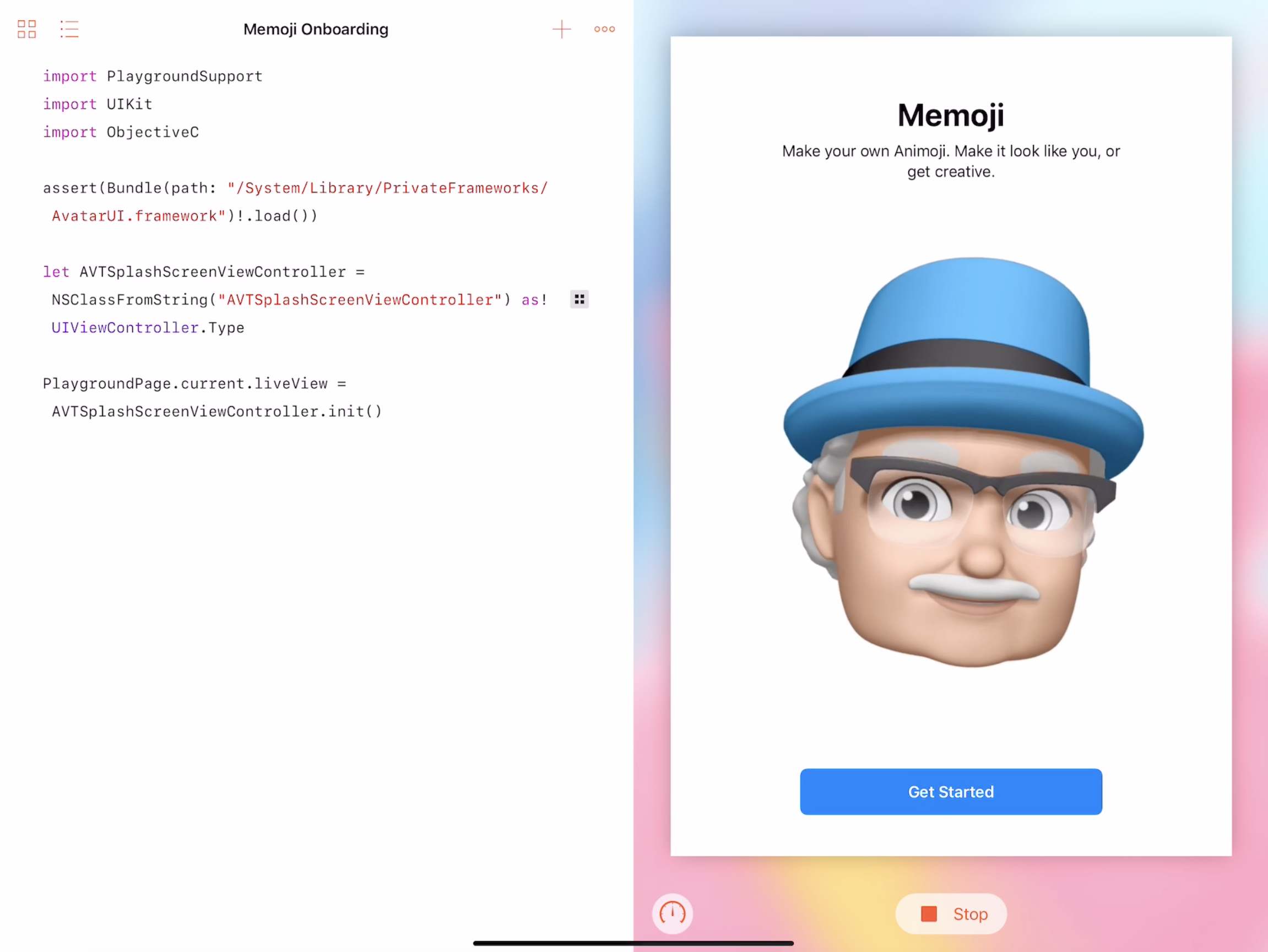 Hacking with private APIs on iPad | Rambo codes